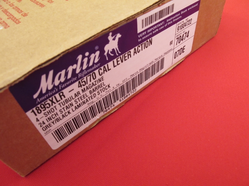 Marlin Model 1895 XLR 45-70 - Stainless, New in Box - Picture 6