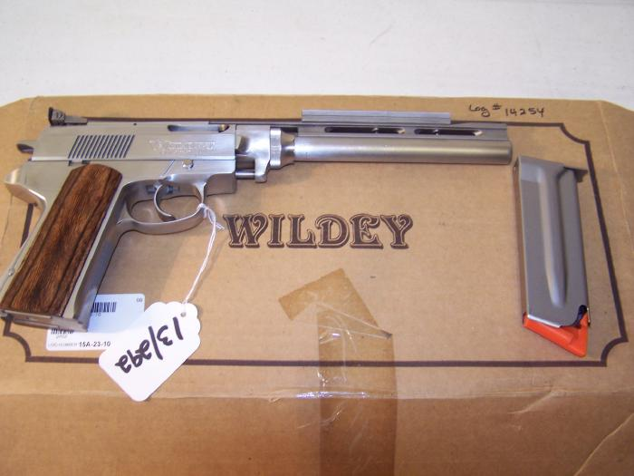 Wildey Firearms Co., Inc. - WILDEY SURVIVOR SEMI-AUTO MAGNUM PISTOL - Picture 3