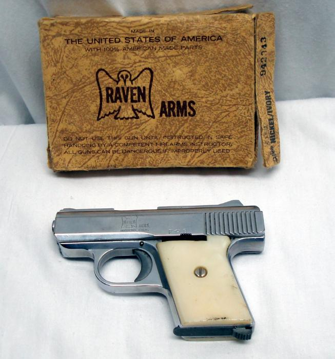 Raven Arms RAVEN Model MP-25 .25 cal handgun