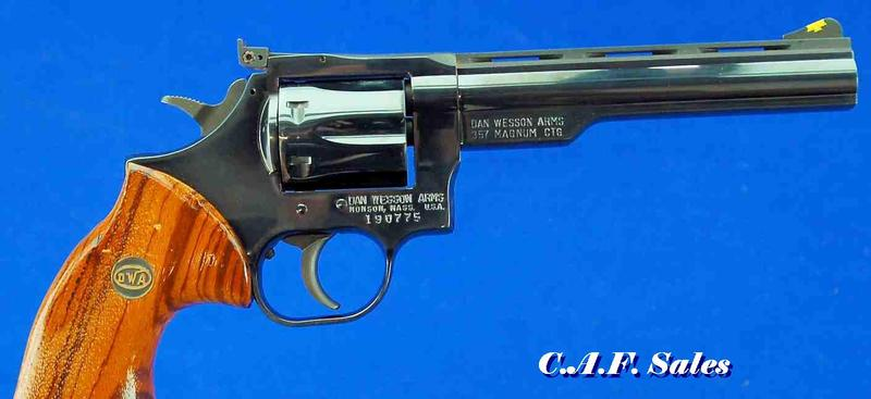 Dan Wesson Firearms - Model 15 .357Mag Revolver - Picture 1