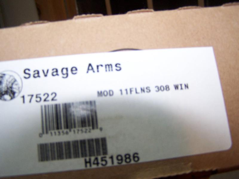 SAVAGE - MODEL 11FL HUNTER LEFT HAND .308 RIFLE NEW IN BOX - Picture 6