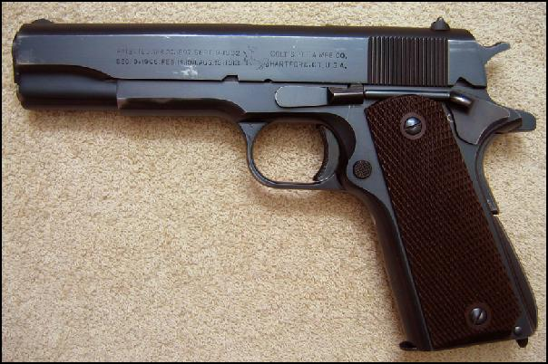 Colt - 1911A1 mil/comm 1946 Government Model .45 Rare! - Picture 2