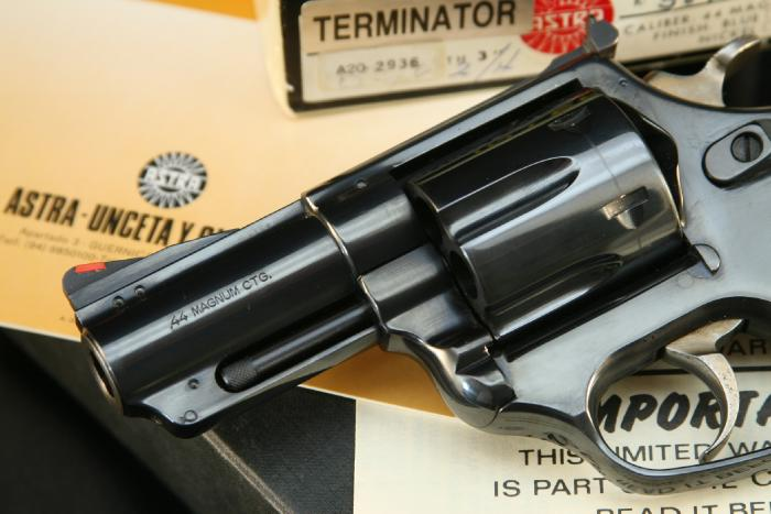 Astra (Interarms) - Astra Terminator .44 Magnum Double Action Revolver - Picture 8
