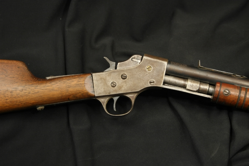 J. Stevens Arms Slide Action - Visible Load Rifle .22 Model 70 Repeater - C&R OK - Picture 3