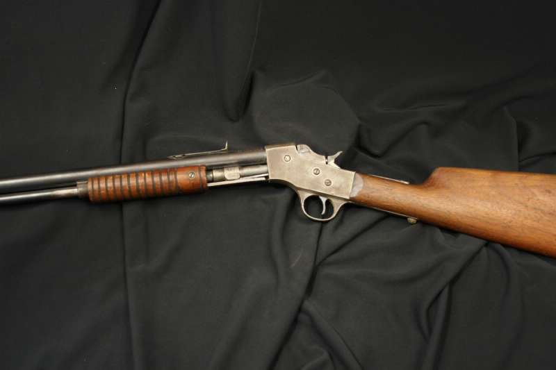 J. Stevens Arms Slide Action - Visible Load Rifle .22 Model 70 Repeater - C&R OK - Picture 6