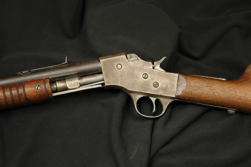 J. Stevens Arms Slide Action - Visible Load Rifle .22 Model 70 Repeater - C&R OK - Picture 8