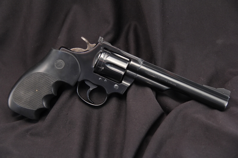 6 Blue Colt Trooper Mark III - Double Action Revolver, .357 Magnum – No Reserve - Picture 1