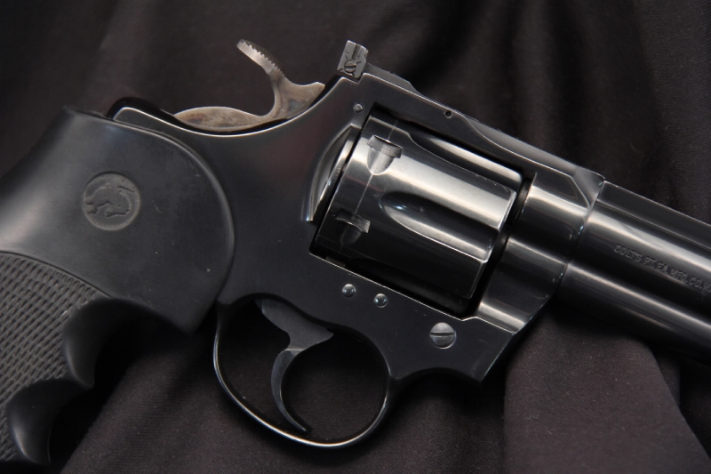 6 Blue Colt Trooper Mark III - Double Action Revolver, .357 Magnum – No Reserve - Picture 3