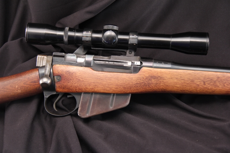 British Enfield No. 4 MK 1 - .303 Sporterized Bolt Action Rifle, C&R OK - Picture 3