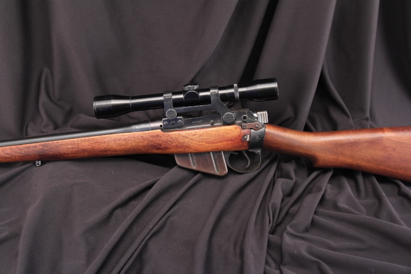 British Enfield No. 4 MK 1 - .303 Sporterized Bolt Action Rifle, C&R OK - Picture 6