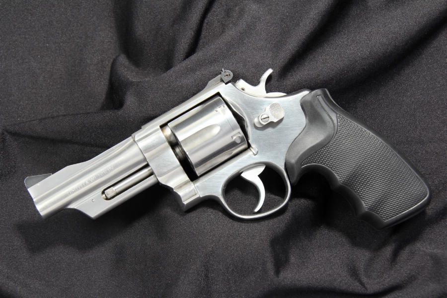 Smith & Wesson S&W Model 624 - Target Stainless .44 Spl. Double Action Revolver - Picture 5
