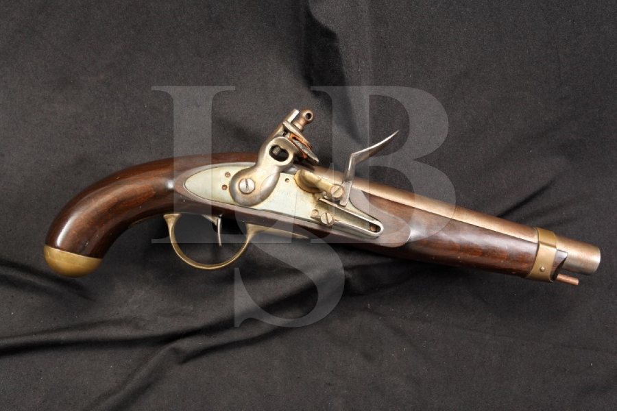 HY Hunter Hollywood California - Buccaneer Model .75 Caliber Flintlock Pistol - Picture 1