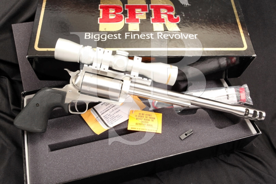 Magnum Research Bfr 500 S W Single Action Magnum Revolver Leupold