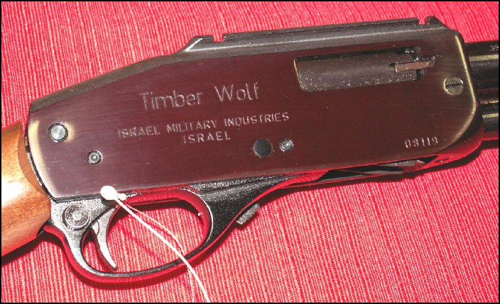 IMI - Timber Wolf .357 Magnum Pump-Action Takedown Rifle - Picture 6