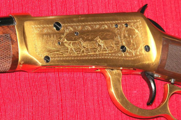 Winchester - MODEL 94 ANTLERED GAME COMMEMORATIVE 30-30 - 1978 - Picture 6