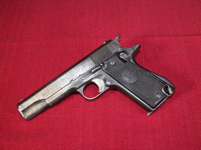Star-Bonifacio Echeverria SA Star Model A Automatic Pistol Cal - 9mm / 38 Super