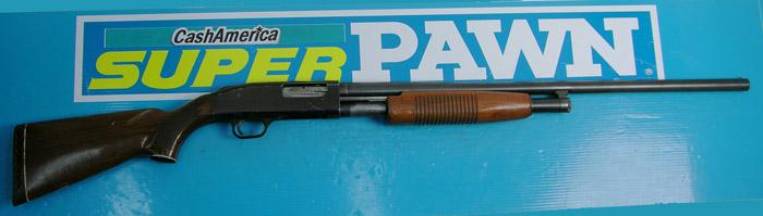 Western Field - Model M550AB 12 GA Pump Action Shotgun - Picture 1