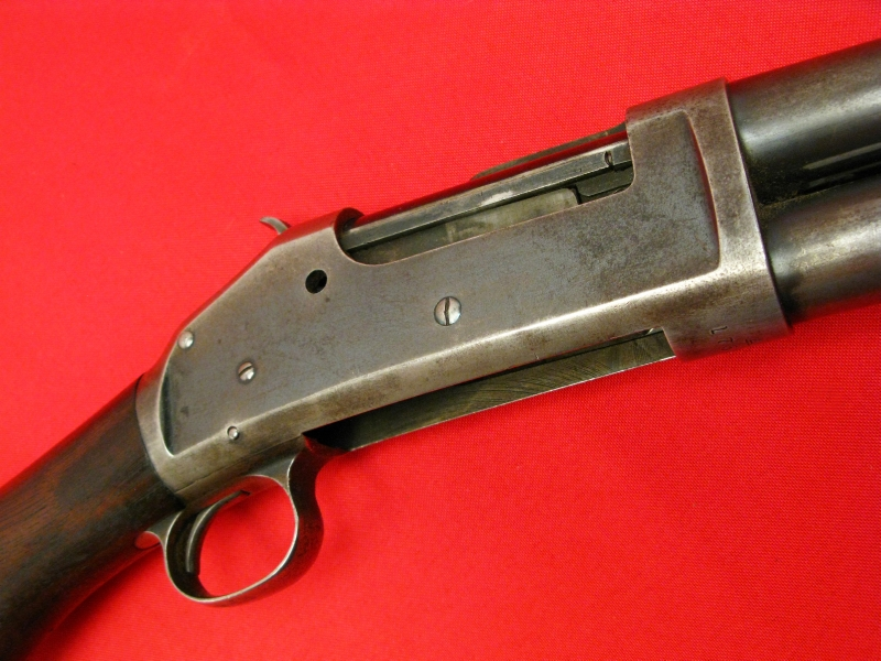 WINCHESTER  MODEL 1893  12-GA - EARLY PUMP SHOTGUN, Mfd 1896, All Original & NICE! - Picture 4