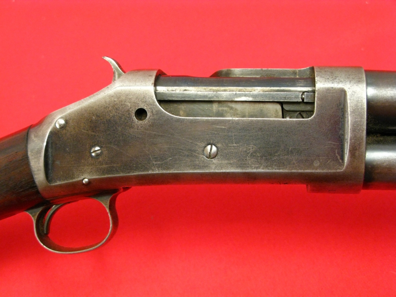 WINCHESTER  MODEL 1893  12-GA - EARLY PUMP SHOTGUN, Mfd 1896, All Original & NICE! - Picture 5