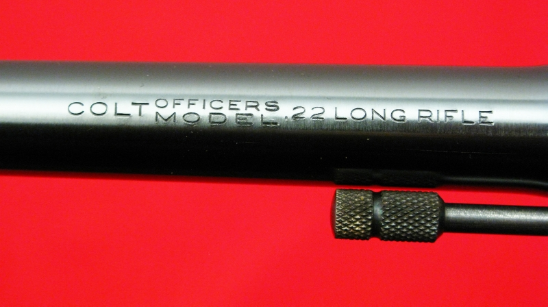 COLT  OFFICER'S MODEL TARGET - .22 LONG RIFLE...Pre-War, Mfd 1938...AS NEW IN BOX - Picture 10