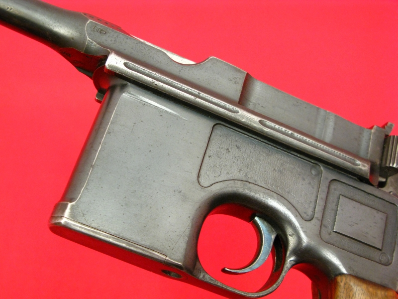 MAUSER  BROOMHANDLE RED-9 - Post WWI Treaty Rework, All Matching, Non-Import! - Picture 5