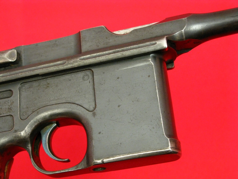 MAUSER  BROOMHANDLE RED-9 - Post WWI Treaty Rework, All Matching, Non-Import! - Picture 9