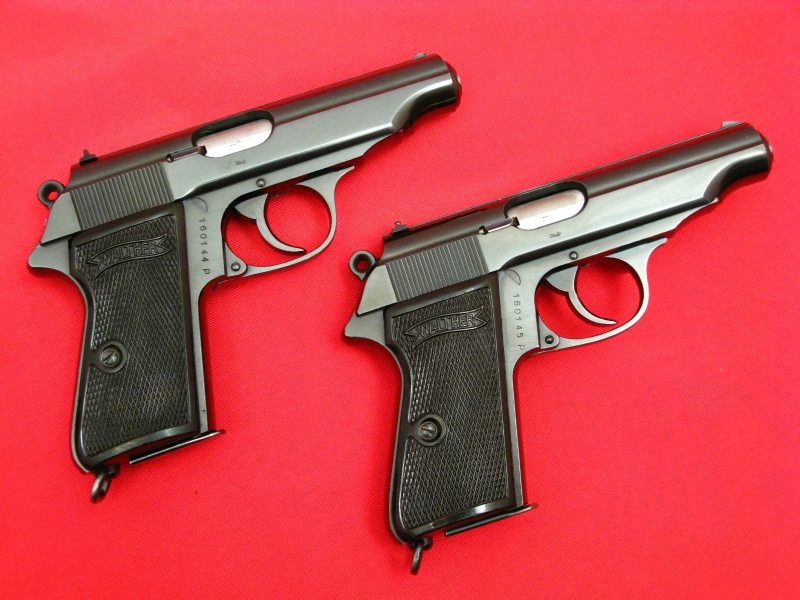 WALTHER  PP  Pre-War Nazi Era - CONSECUTIVE SN# PAIR!!...Fantastic Shape...C&R OK! - Picture 2