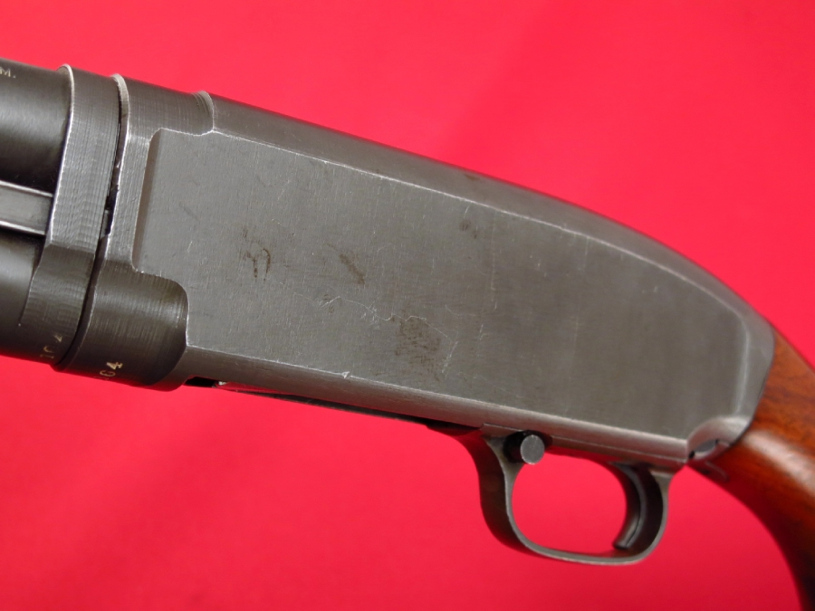 WINCHESTER  MODEL 12  WWII - U.S. Marked RIOT/TRENCH...Factory Parkerized...C&R - Picture 10
