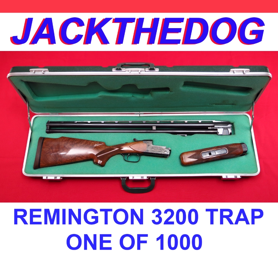 REMINGTON  MODEL 3200 TRAP - ONE OF 1000...30