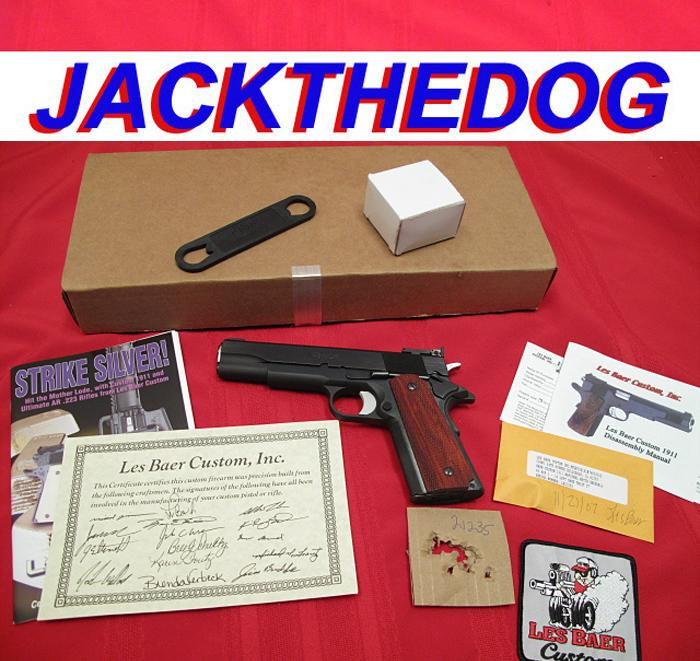 LES BAER - .45 NATIONAL MATCH HARDBALL...DCM legal...AS NEW IN BOX!!