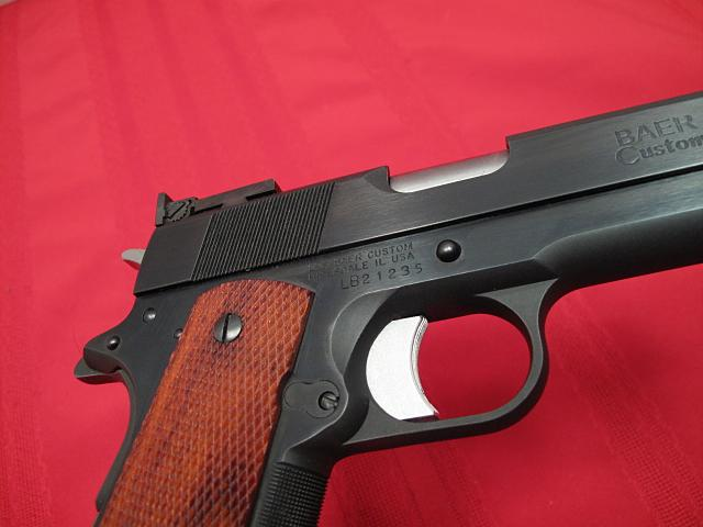 LES BAER - .45 NATIONAL MATCH - HARDBALL...DCM legal...AS NEW IN BOX!! - Picture 7