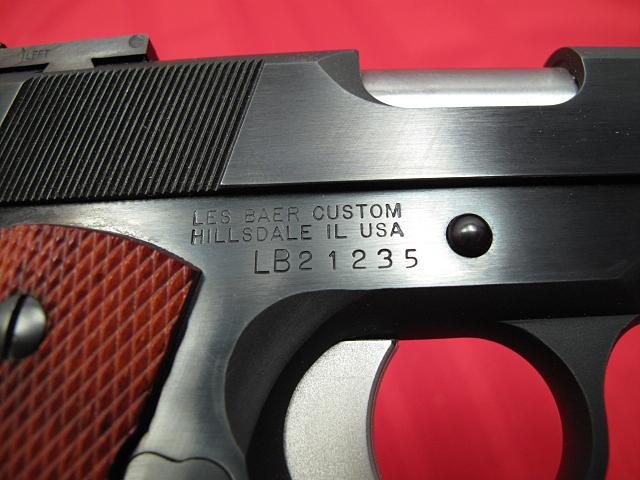 LES BAER - .45 NATIONAL MATCH - HARDBALL...DCM legal...AS NEW IN BOX!! - Picture 8