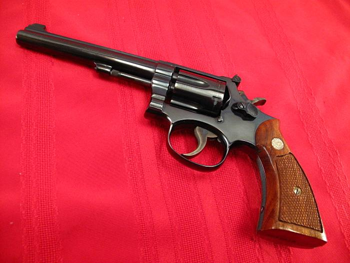 SMITH & WESSON - Model 16-3 - RARE K32 Target...As New in Box w/ Factory Letter! - Picture 3