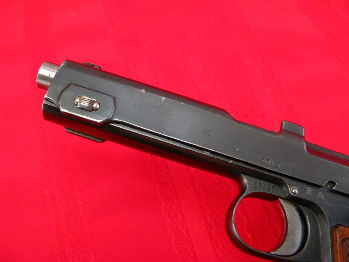 STEYR HAHN - Model 1912  WWII - NAZI POLICE E/L...9mm Para...Matching, Non-Import! - Picture 4