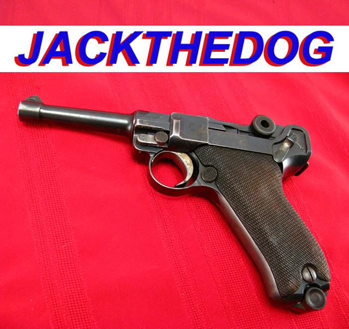 DWM - 1908 GERMAN LUGER, 9mm 1st Issue!...Earliest German Military Luger!...C&R