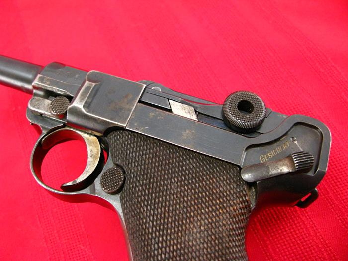 DWM - 1908 GERMAN LUGER, 9mm - 1st Issue!...Earliest German Military Luger!...C&R - Picture 5
