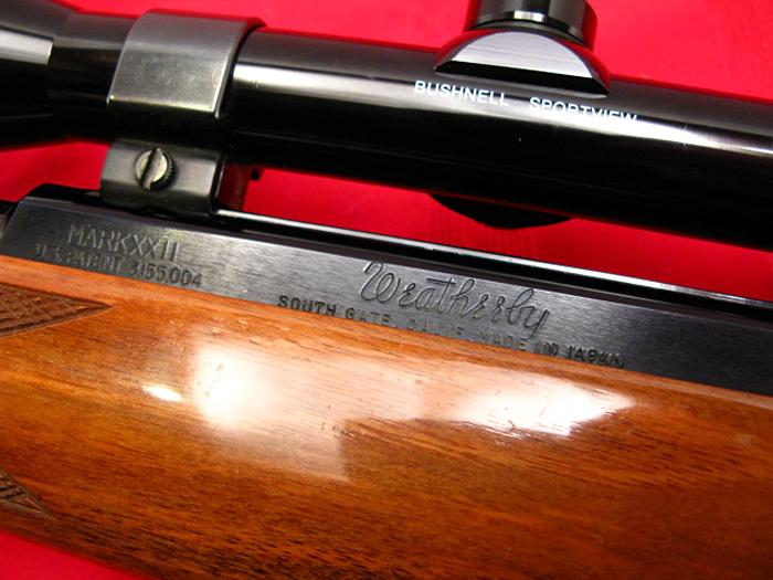 WEATHERBY - MARK XXII  .22LR - Semi-Auto Tube Feed....Nice Shape, NO RESERVE!! - Picture 8