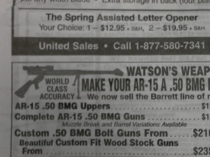 Watson Bros. - .50 bmg single shot upper receiver & barrel 50 cal - Picture 8