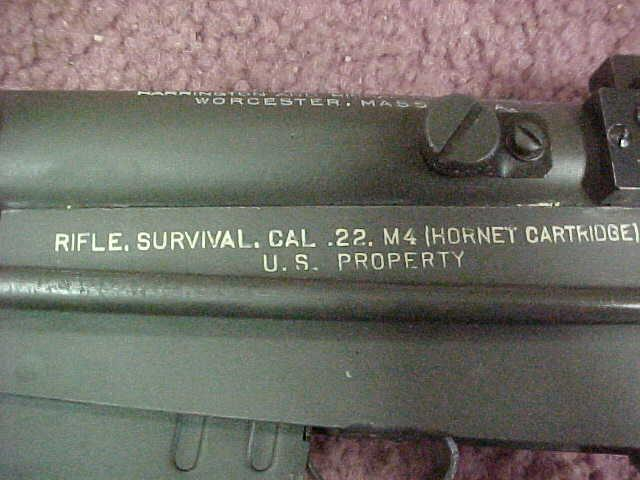 H&R-M4 - SURVIVAL RIFLE  CAL-22 hornet - Picture 3