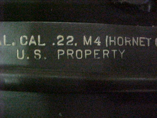 H&R-M4 - SURVIVAL RIFLE  CAL-22 hornet - Picture 9