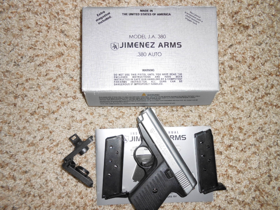 Jimenez Arms - Model JA 380 new in box, manual, 2 magazines - Picture 2