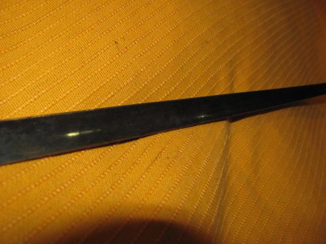 Martini-Henry Bayonet & Scabbard 1853 V. Good+ - Picture 6