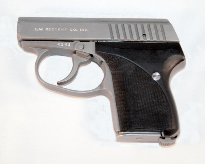 Seecamp - LWS .25ACP Stainless Pistol w/Ankle Holster & Ammo - Picture 3