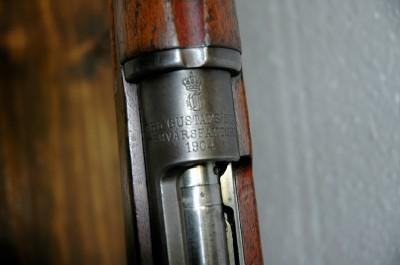 SWEDISH MAUSER 1894 CARBINE - 6.5x55 - CARL GUSTAF - MADE 1904 - C&R OK - Picture 3