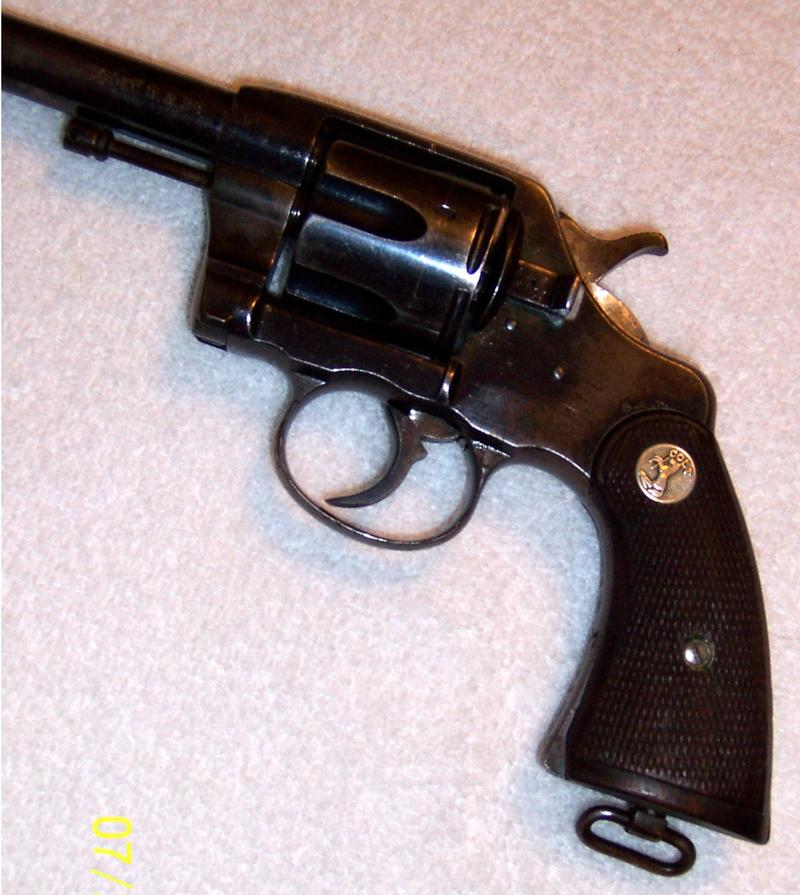 - COLT REVOLVER MODEL 1901 D A NEW ARMY .38 L. C. - Picture 4