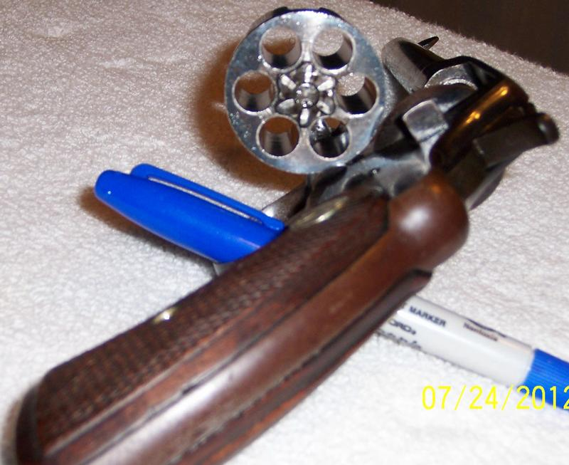 - COLT REVOLVER MODEL 1901 D A NEW ARMY .38 L. C. - Picture 5