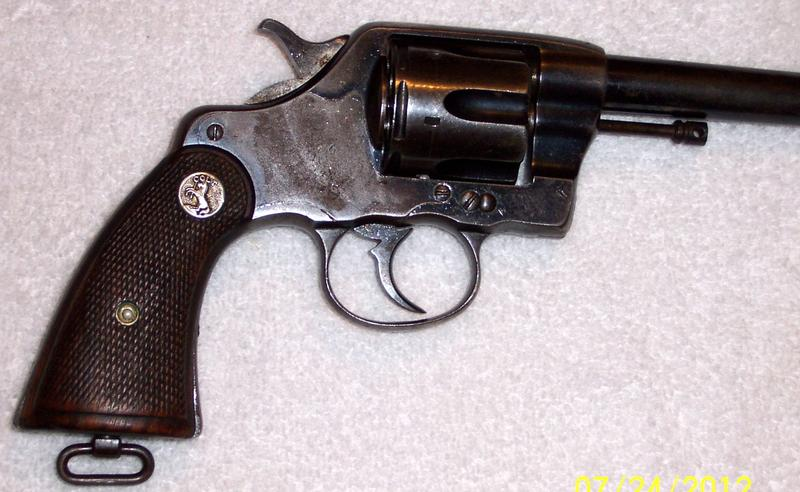 - COLT REVOLVER MODEL 1901 D A NEW ARMY .38 L. C. - Picture 3