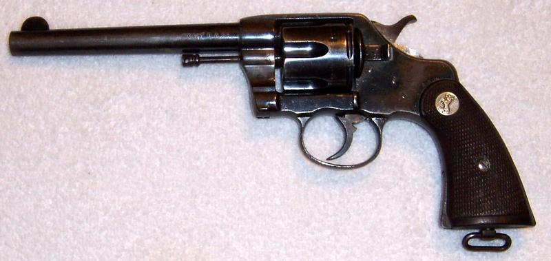 - COLT REVOLVER MODEL 1901 D A NEW ARMY .38 L. C. - Picture 2
